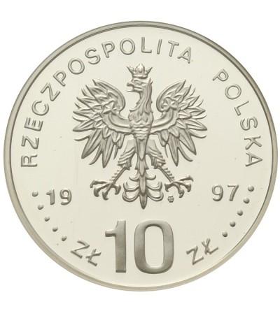 10 zlotych 1997, Stefan Batory - Half length figure. GCN PR70