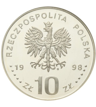 10 złotych Gen. Emil Fielfdorf. GCN PR70