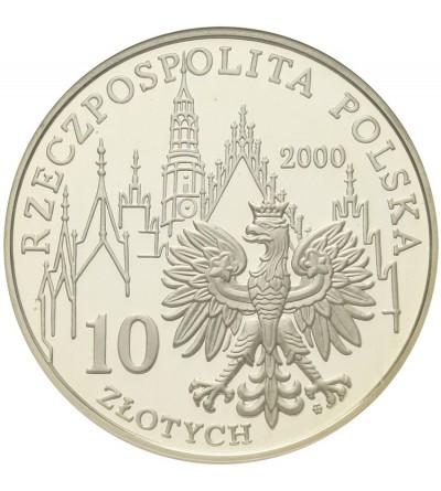 10 złotych 2000, 1000 lat Wrocławia. GCN PR70