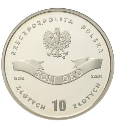 10 złotych 2001, Kardynał Stefan Wyszyński. GCN PR70