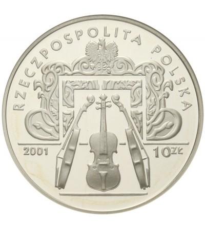 Poland 10 zlotych 2001, Henryk Wieniawski. GCN PR70