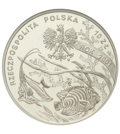 10 złotych 2001, Michał Siedlecki. GCN PR70