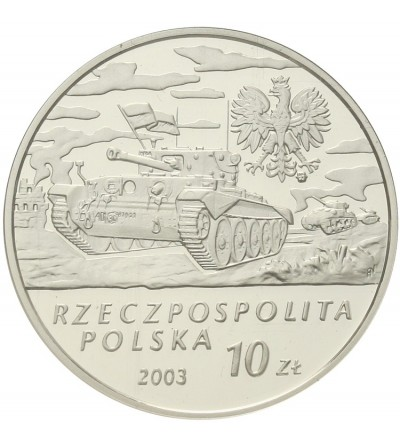 10 złotych 2003, Gen. Stanisław Maczek. GCN PR70