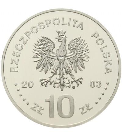 10 złotych 2003, Stanisław Leszczyński. GCN PR70