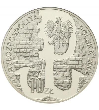 10 złotych 2004, 60 rocz. Powstania Warszawskiego. GCN PR70