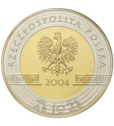 Poland 10 zlotych 2004, Olympics 2004. GCN PR70
