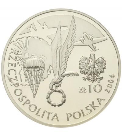 10 złotych 2004, gen Stanisław Sosabowski. GCN PR70