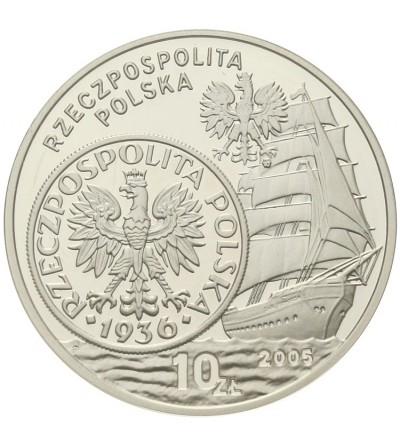 10 złotych 2005, Dzieje złotego. GCN PR70