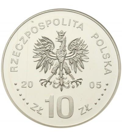 10 złotych 2005 Stanisław August Poniatowski. GCN PR70