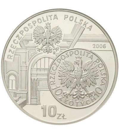 Poland 10 zlotych 2006, Dzieje złotego. GCN PR70