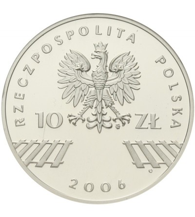 10 złotych 2006, 30 rocznica Czerwca '76. GCN PR70