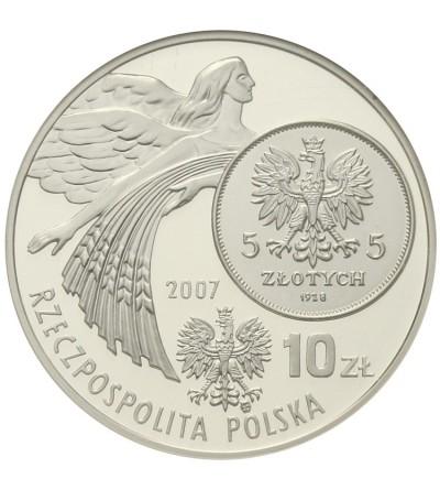10 złotych 2007, dzieje złotego. GCN PR70