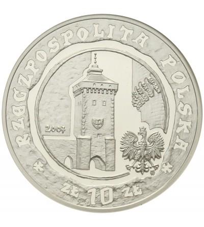 10 złotych 2007, 750 - lecie lokacji Krakowa