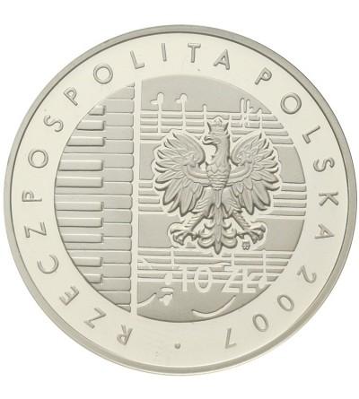 10 złotych 2007, Karol Szymanowski. GCN PR70