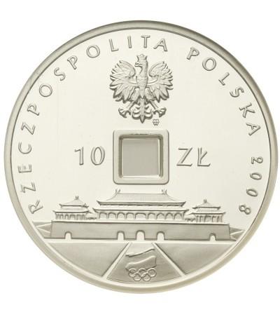 10 złotych 2008, Pekin 2008. GCN PR70