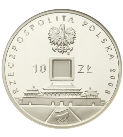 Poland 10 zlotych 2008, The 29th Olympic Games Beijing. GCN PR70