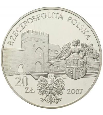 20 złotych 2007, Średniowieczne miasto w Toruniu. GCN PR70