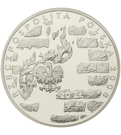20 złotych 2008, 65 rocz. Powstania w Getcie Warszawskim. GCN PR70