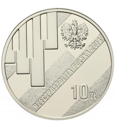 10 złotych 2014, Grzegorz Ciechowski