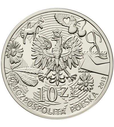 Poland 10 zlotych 2013, Agnieszka Osiecka