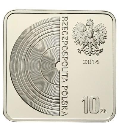 Poland 10 zlotych 2014, Grzegorz Ciechowski