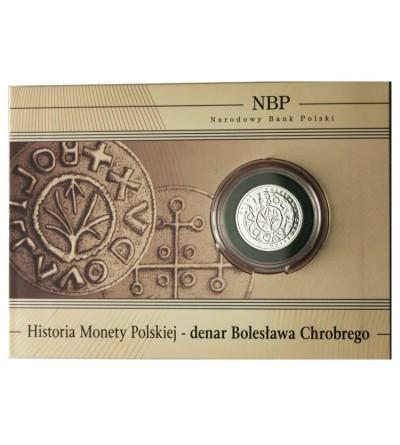 5 złotych 2013, Denar Bolesława Chrobrego