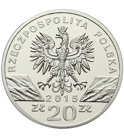 Poland 20 zlotych 2015. Honeybee