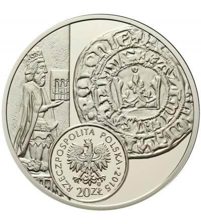 Poland 20 zlotych 2015. The Grosz of Kazimierz Wielki
