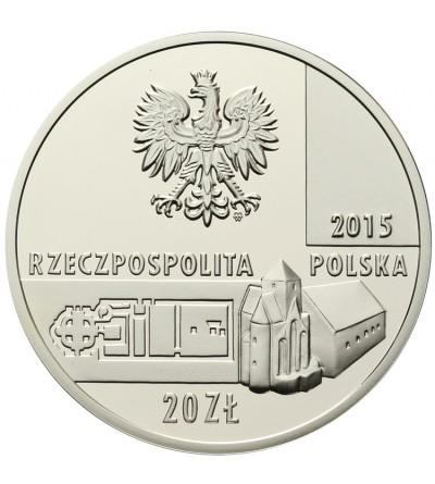 Poland 20 zlotych 2015. Ostrow Lednicki