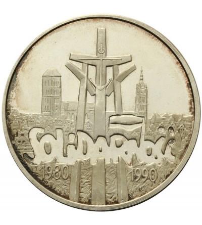 100000 złotych 1990, Solidarnośc - typ A