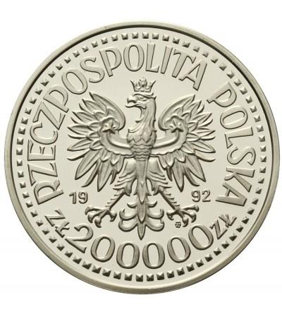 200000 złotych 1992, Władysław III Warneńczyk