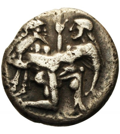 THRACE, Islands off. Thasos. AR Stater, Circa 460 BC