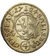Salzburg 4 krajcary 1724, Franciszek Antoni von Harrach 1709-1727