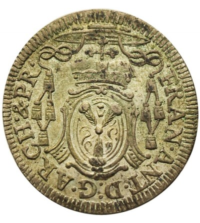 Salzburg 4 krajcary (Batzen) 1725, Franciszek Antoni von Harrach 1709-1727