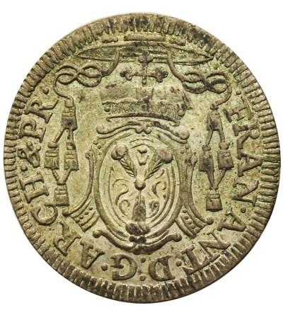 Salzburg 4 kreuzer (Batzen) 1725, Franz Anton von Harrach 1709-1727