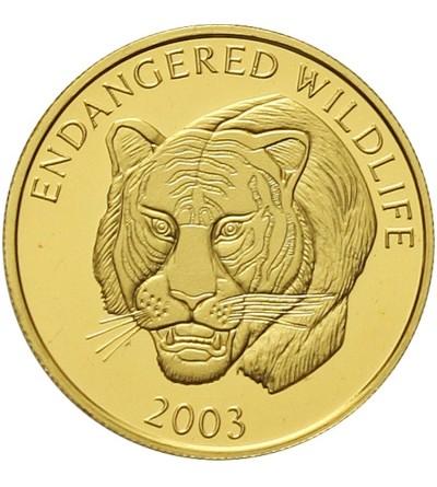 Laos 1000 kip 2003. Tygrys