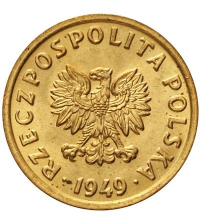 5 groszy 1949, brąz