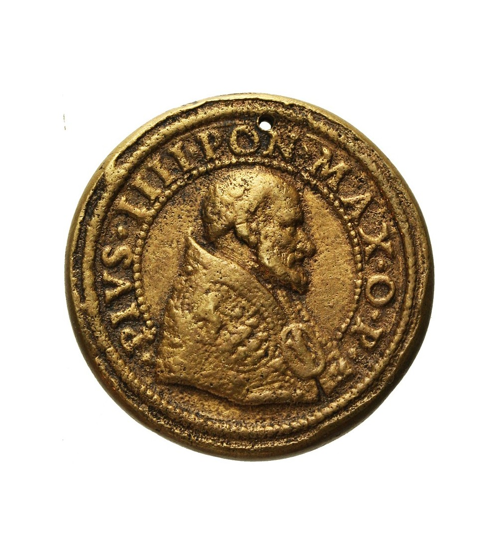 Watykan medal  1861, Pius IIII 1559-1565