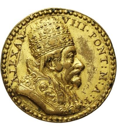 Watykan medal 1689 AN I, Aleksander VIII 1689 - 1691