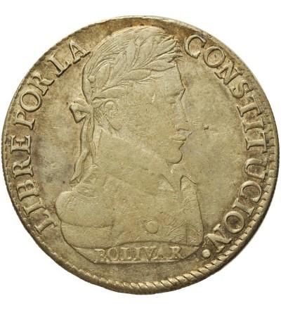 Bolivia 8 soles 1840 LR