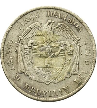 Columbia 5 Decimos 1882, Medellin