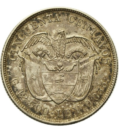 Kolumbia 50 centavos 1892