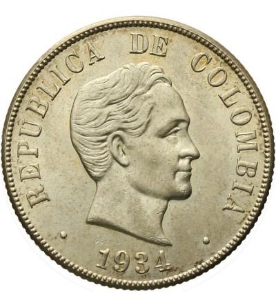 Kolumbia 50 centavos 1934