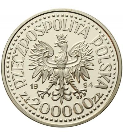 Poland 200000 zlotych 1994, Monte Cassino