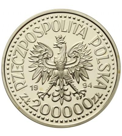 Poland 200000 zlotych 1994, Zygmunt I Stary