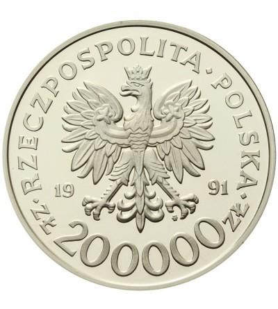 Poland 200000 zlotych 1991, Barcelona 1992