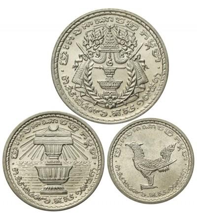 Zestaw Kambodża 10, 20, 50 sen 1959