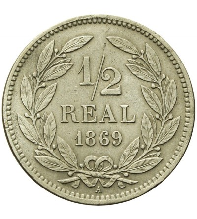 Honduras 1/2 Real 1869