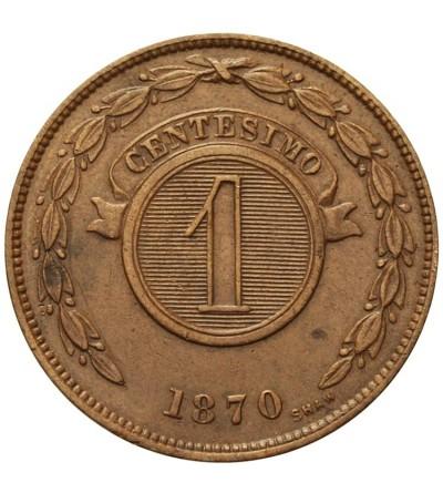 Paragwaj 1 centesimo 1870