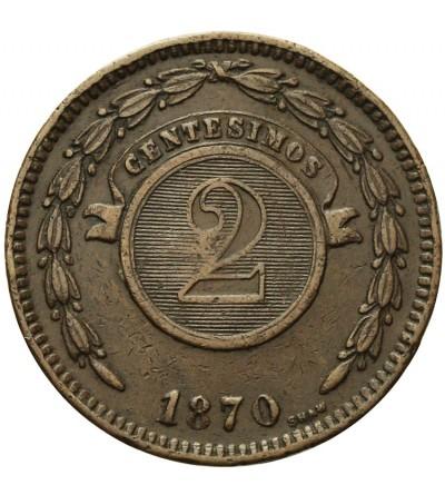 Paragwaj 1 centesimos 1870